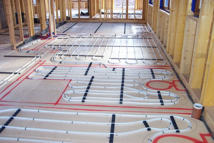 Floor Heating For Bathroom : Borders underfloor heating supply and