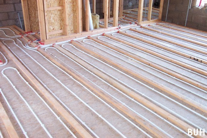 Borders underfloor heating supply and install underfloor for Concrete floor upstairs